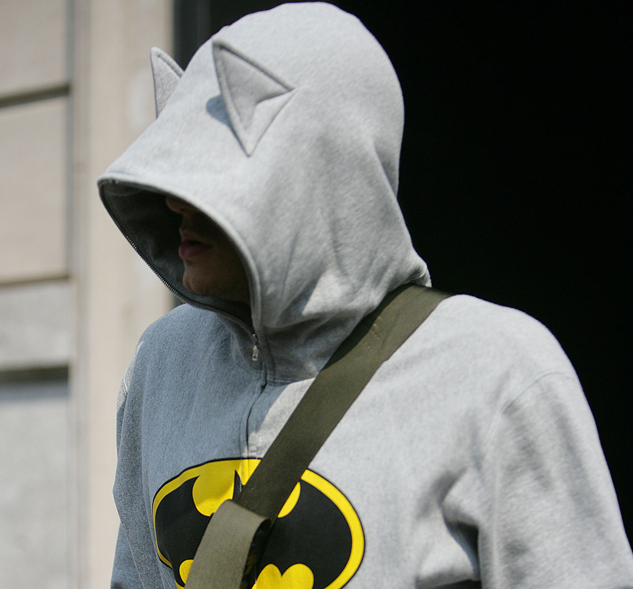 d1286fe55ec8 Geek Apparel of the Week  Bape Batman Hoodie