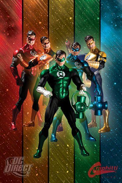 Sdcc Blackest Night Invades Comic Con on Orange Lantern Dc Universe Toys