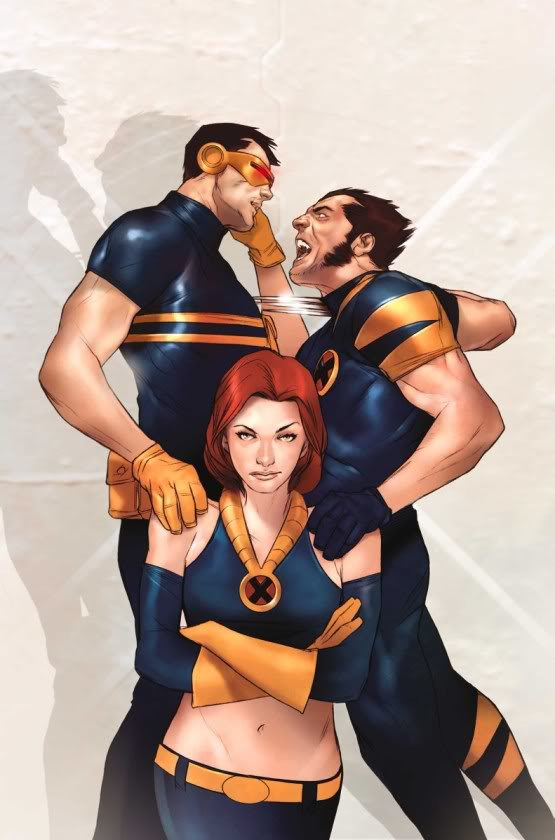 Fan Fiction Friday: Wolverine, Cyclops and Jean Grey in