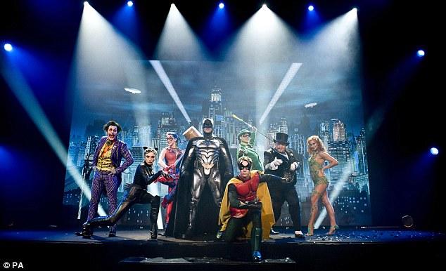 Dc Superhero Outfit Trifecta Green Lantern, Wonder Woman, Batman  Topless Robot-4060
