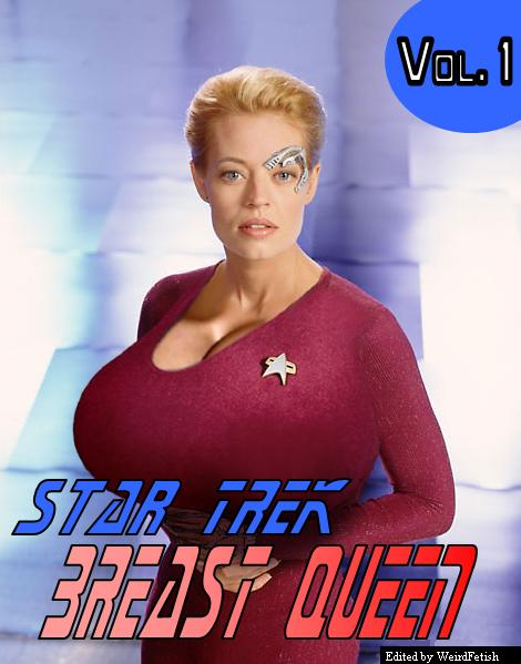fan fiction friday seven of nine in quotthe breast queen