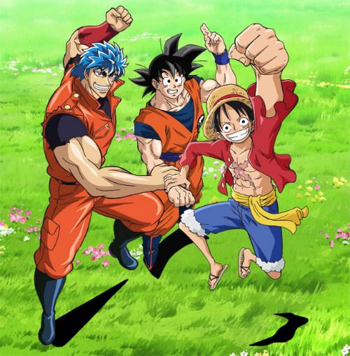 Dream 9 Toriko & One Piece & Dragon Ball Z Super