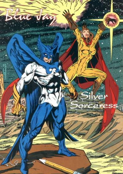 Originally Created As Analogues Of Avengers Scarlet Witch And Hank Pym Over At Marvel These Two Characters First Appeared In An Issue Justice League