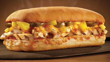 Fast Food Review: Domino's Oven-Baked Habanero Chicken