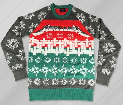 nothing says metal like a nice christmas sweater wait no - Metal Christmas Sweater