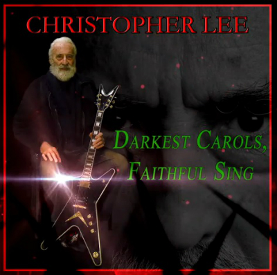 if its december it must be time for a new christopher lee heavy metal christmas carol - Heavy Metal Christmas Music