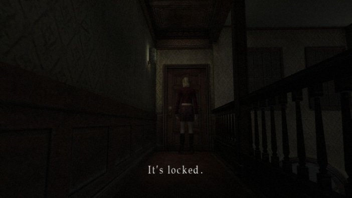 Welcome to Silent Hill's famous Locked Door Museum!