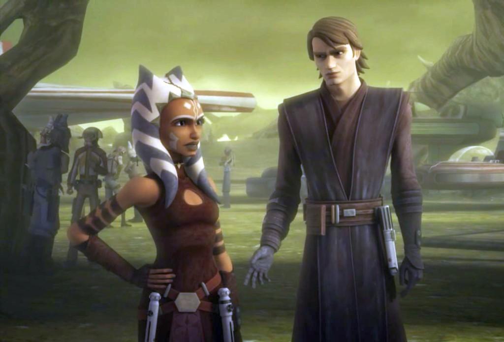 Ahsoka Tano in Star Wars: The Clone Wars