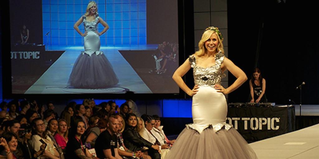 Ashley Eckstein at the Her Universe fashion show