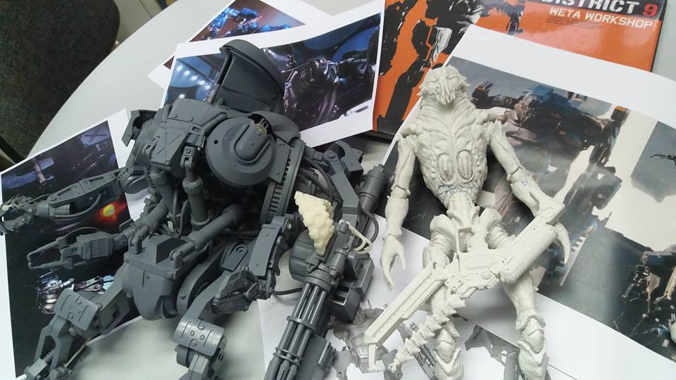 Best Motorcycle Armor >> Looks Like We're Finally Getting Robocop 2 and District 9 Toys   The Robot's Voice