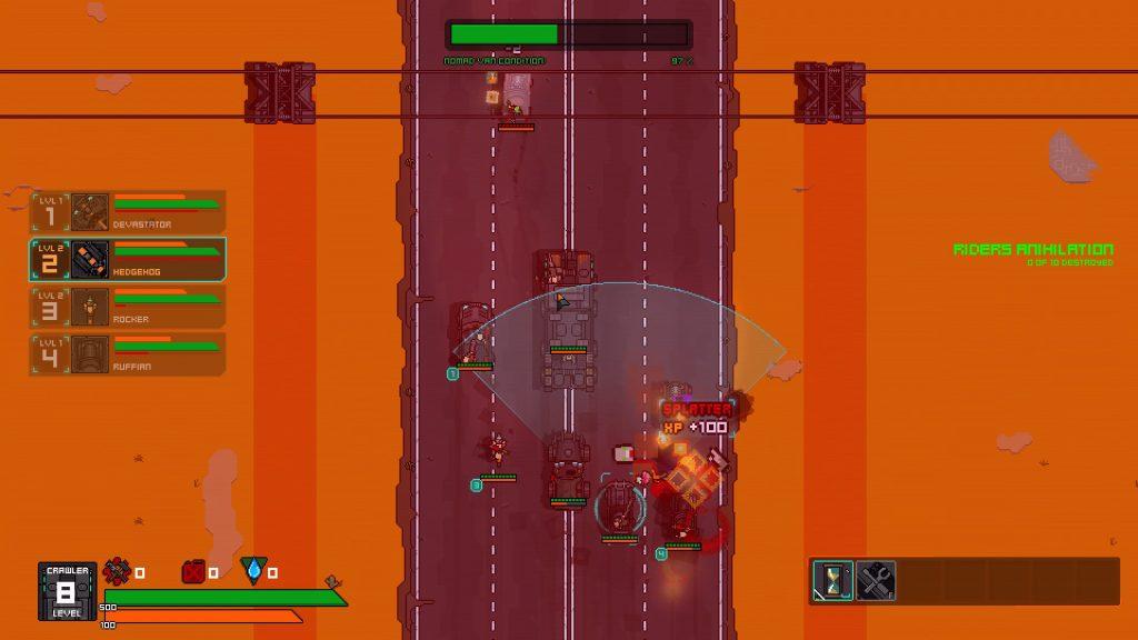 blasted road terror combat