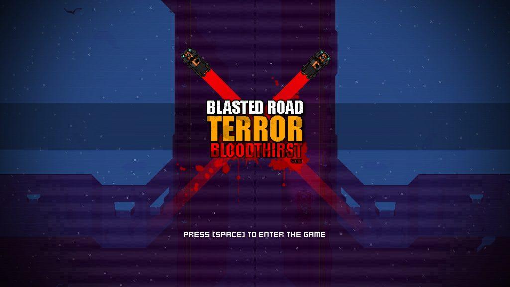 blasted road terror title
