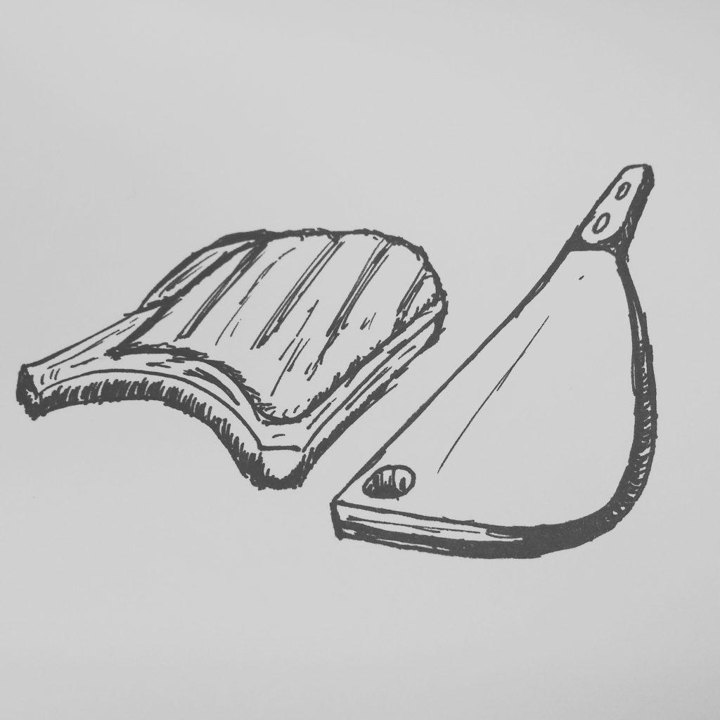 chop inktober 2018
