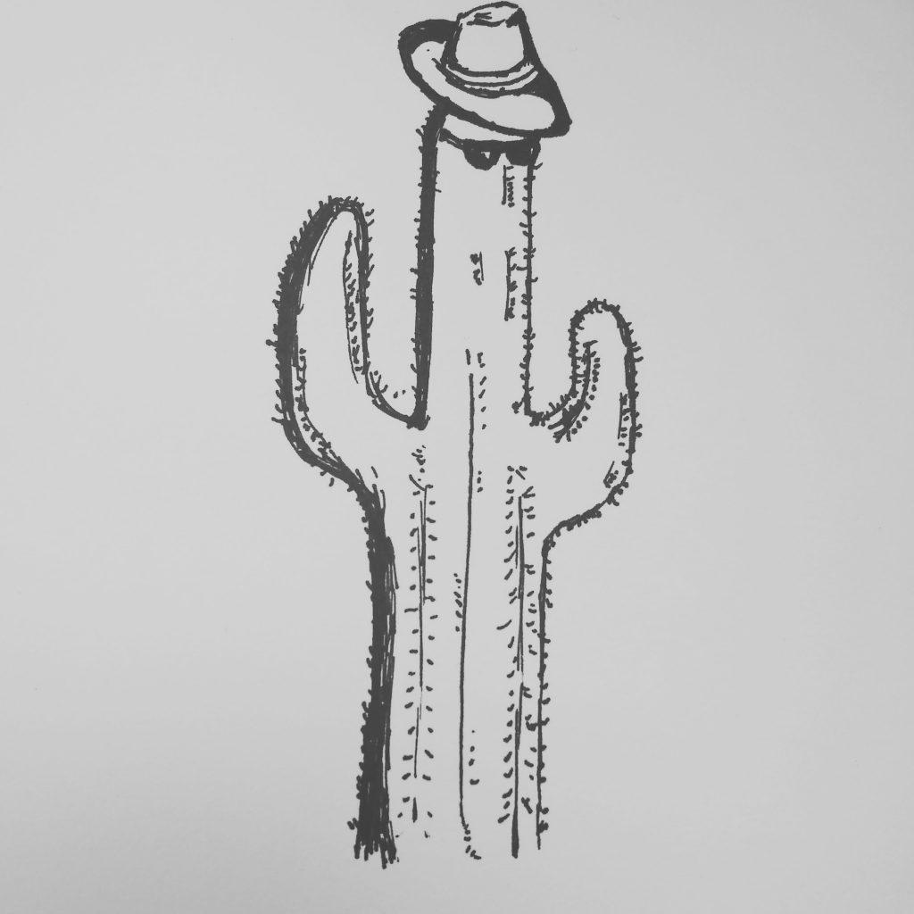 prickly inktober 2018