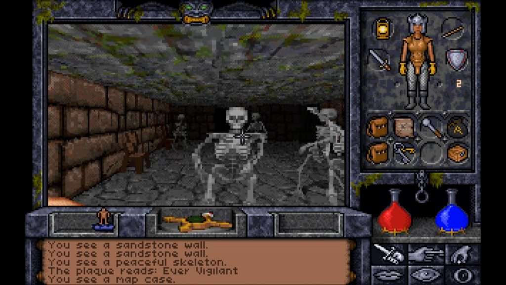 ultima underworld II uuw2 skeleton swarm