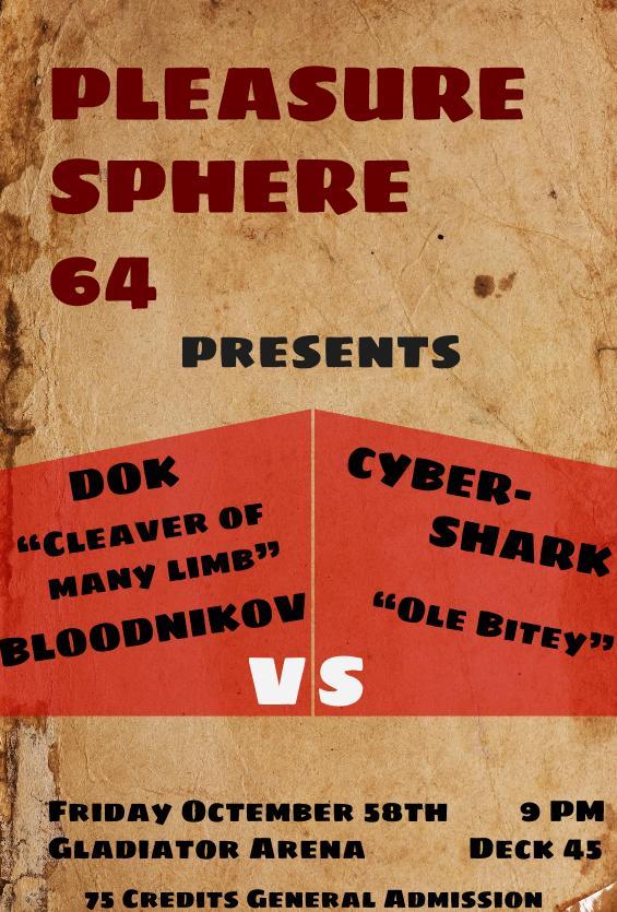 Dok vs CyberSharkPoster