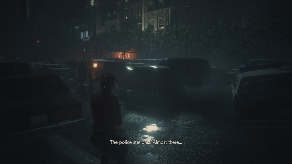 police station resident evil 2 remake