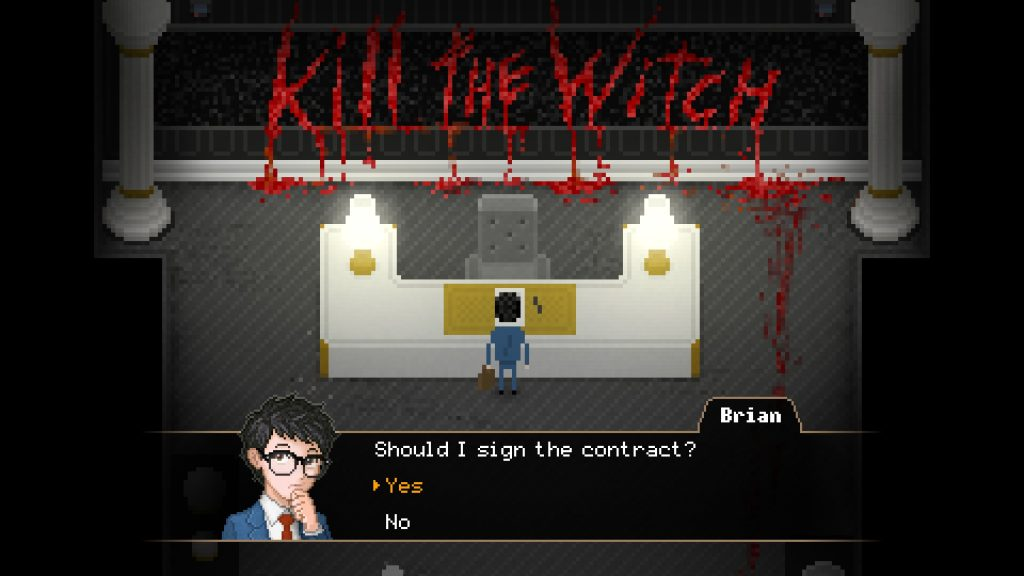 contract yuppie psycho