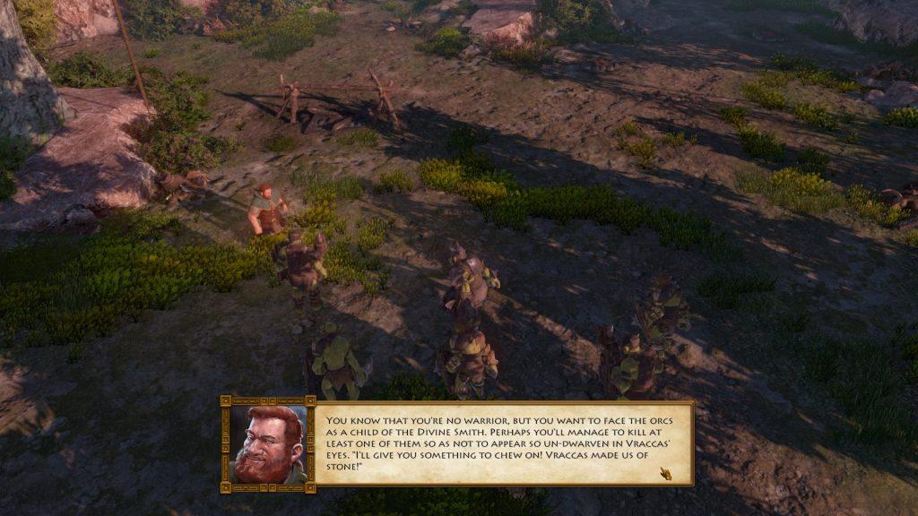the dwarves conversation