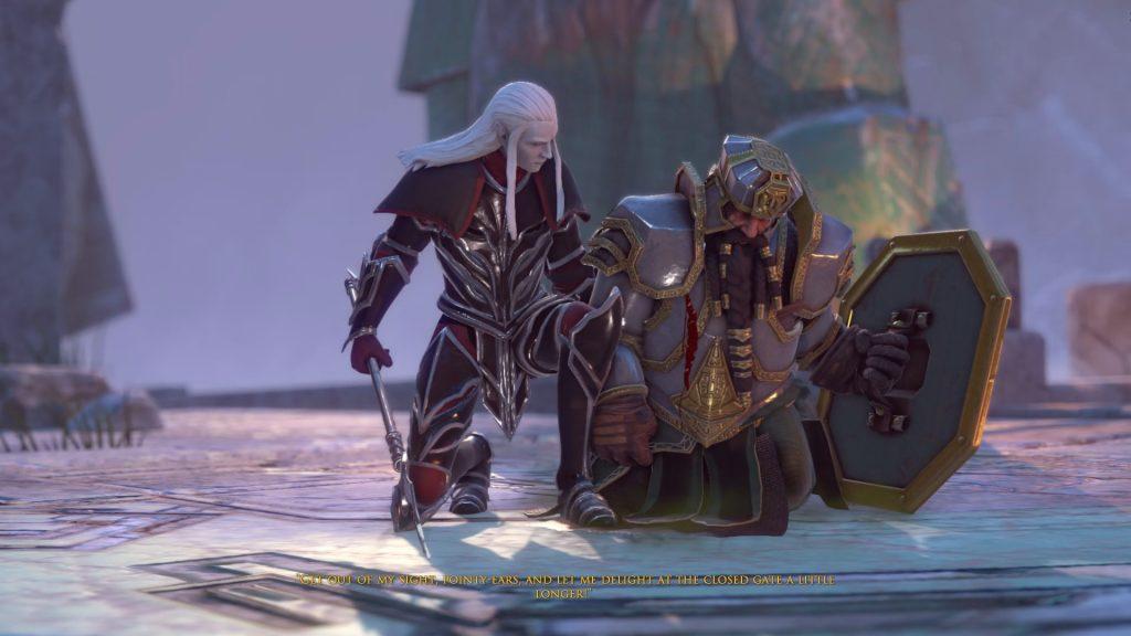 the dwarves sinthral